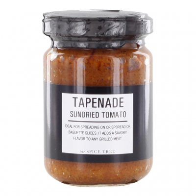 The Spice Tree Tapenade Soltorkade Tomater